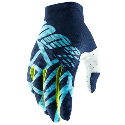 CELIUM 2 100% Glove Navy/Ice Blue/Fluo Lime